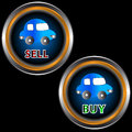 Free Buttons Sell And Buy Royalty Free Stock Photography - 25604527