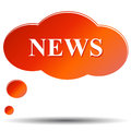 Free News  Icon Stock Photo - 25604560