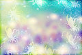 Free Abstract Floral Background Stock Photography - 25609702