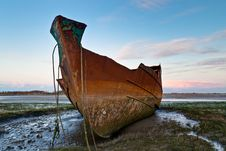 Free Rusting Trawler Royalty Free Stock Photo - 25600885