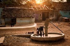 Free Drought And Water HandPump Royalty Free Stock Photo - 25604495