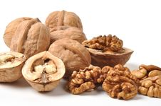 Free Walnuts Royalty Free Stock Images - 25605039