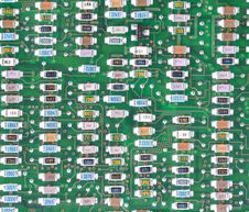 Circuit Board Texture - Tileable Stock Photos