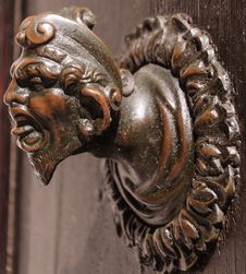 Free Ancient Door Knob Royalty Free Stock Photography - 25605957