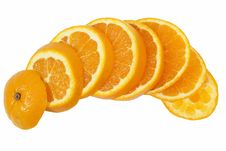 Free Orange Slice Royalty Free Stock Images - 25606149
