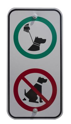 Free Dog Handling Signs Stock Images - 25607034