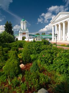 Free Inside Spaso-Yakovlevsky Monastery In Rostov Stock Photos - 25607793