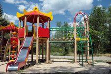 Russian Children S Playground Stock Photo