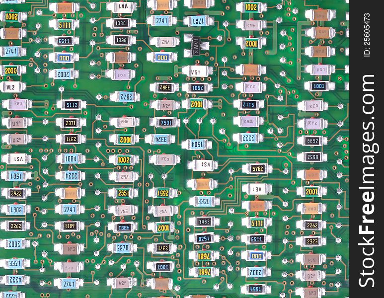 Circuit board texture - tileable