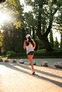 Free Sunrise Running Stock Image - 25613841