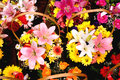 Free Baskets With Colorful Bouquets Stock Image - 25619271