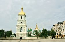 Free Saint Sophia Cathedral In Kiev Stock Image - 25610711