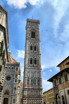 Belfry Of Santa Maria Del Fiore Royalty Free Stock Photo