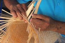 Free Traditional Bamboo Weaving Stock Photos - 25612923