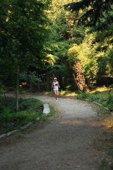 Free Morning Jogging Royalty Free Stock Images - 25613839