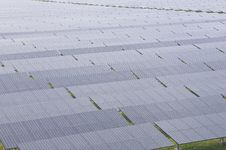 Free Solar Farm Royalty Free Stock Photography - 25614267