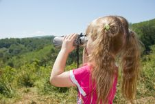 Free Child And Nature. Stock Photography - 25617922