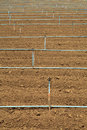 Free Plow Land And Irrigation System Stock Images - 25623854
