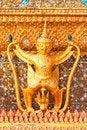 Free Golden Garuda Statue Stock Images - 25624064