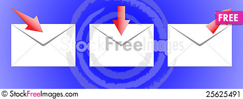 Free The Icon-mail. Stock Image - 25625491