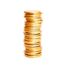 Free Stack Of Coins Royalty Free Stock Photos - 25620338