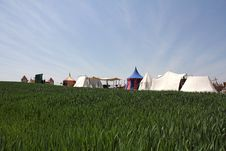 Free Knight S Tents Stock Photo - 25620460