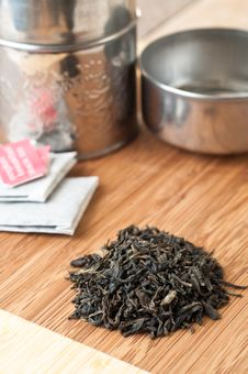 Free Loose Tea And Teabags Stock Images - 25621564