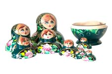 Free Russian Dolls Stock Photo - 25622480