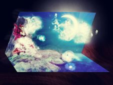 Free 3D Live Card Royalty Free Stock Images - 25623579