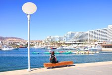 Free Vacation In Eilat Royalty Free Stock Photos - 25623898