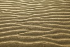 Rippled Sand Royalty Free Stock Photos