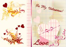 Free Greeting Valentine Card With Space For Text Royalty Free Stock Image - 25624046