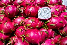 Free Exotic Thai Fruit. Dragon Fruit Royalty Free Stock Image - 25624546