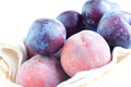 Free Peaches And Plums  Close-up Royalty Free Stock Images - 25639219