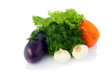 Free Vegetables Isolated Royalty Free Stock Photos - 25630688