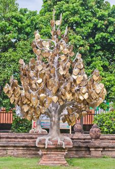 Free The Golden Tree In Thai Temple Stock Images - 25630944