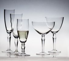 Free Champagne Glassware Stock Images - 25632214