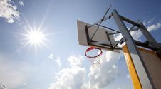 Free Basketball Hoop Stock Photo - 25632250