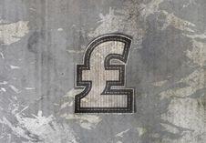Free Pound Money Label Royalty Free Stock Image - 25632306