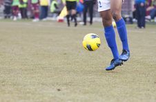 Free Soccer Player Royalty Free Stock Photography - 25632377