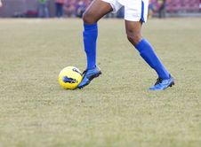 Free Soccer Player Stock Photos - 25632383
