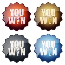Free You Win Stock Image - 25634211