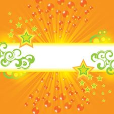 Abstract Summer Design Background Royalty Free Stock Image