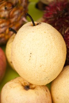 Free Pears Background Royalty Free Stock Photo - 25638185
