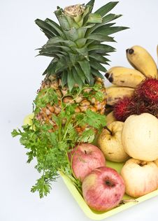 Free Tropical Fruit. Stock Photography - 25638222