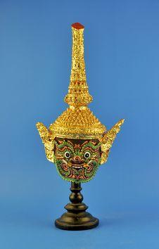 Thai Giant Mask Royalty Free Stock Photography
