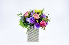Flower Vase Stock Photo