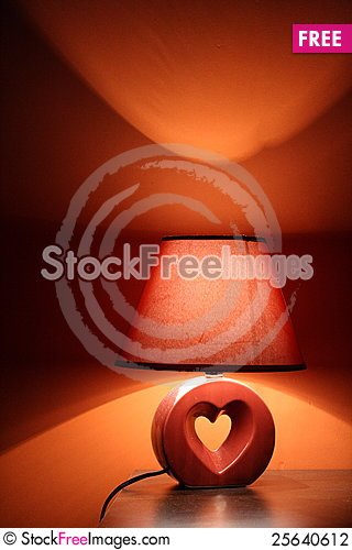 Free Lamp In Warm Colors Stock Photography - 25640612