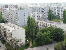 Free Apartment Houses Stock Photography - 25640132