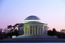 Free Thomas Jefferson Memorial Royalty Free Stock Image - 25640296